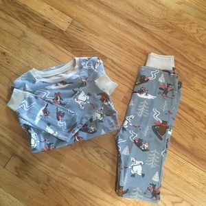 Hatley organic cotton pajama set- New With Tags